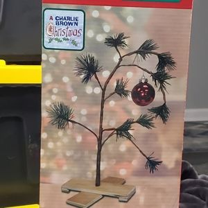 NIB Charlie Brown Christmas Tree